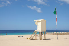Playa del Matorral, Fuerteventura Spain Royalty Free Stock Images