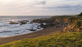 Playa del Moonstone Foto de archivo libre de regalías