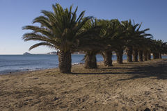 Playa del morrongo Benicarlo Стоковое Фото
