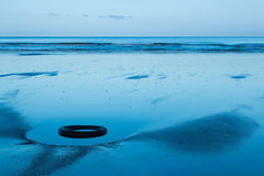 Playa del neumático Imagen de archivo libre de regalías