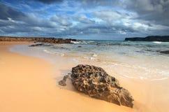 Playa del norte de Avoca Fotos de archivo