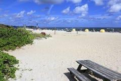 Playa del norte del parque del océano Fotos de archivo libres de regalías