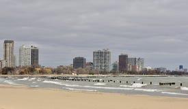 Playa del norte icónica de la avenida Foto de archivo