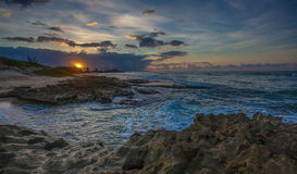Playa del norte Kaneohe Marine Corps Base Hawaii Imágenes de archivo libres de regalías