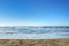 Playa del océano en San Francisco California Fotos de archivo libres de regalías