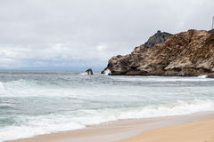 Playa del Océano Pacífico Fotografía de archivo