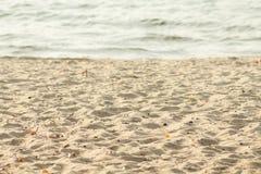 playa del otoño Imagen de archivo libre de regalías