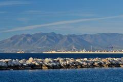 Playa del palo del EL foto de archivo