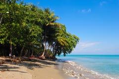 Playa del paraíso Imagen de archivo libre de regalías