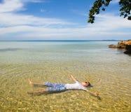 Playa del paraíso Imágenes de archivo libres de regalías