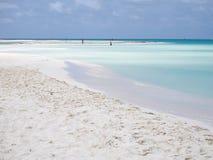 Playa del paraíso en Cayo largo fotos de archivo libres de regalías