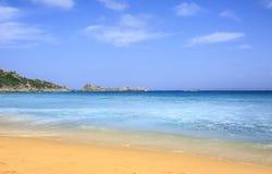 Playa del paraíso en la costa de Cerdeña, Italia fotos de archivo libres de regalías