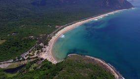 Playa del paraíso, playa hermosa, playas maravillosas en todo el mundo, playa de Grumari, Rio de Janeiro, el Brasil
