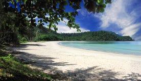 Playa del paraíso Fotos de archivo libres de regalías