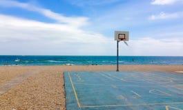 Playa del patio fotografía de archivo