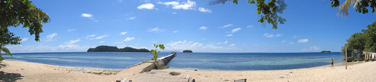 Playa del pulau Kadidiri Foto de archivo libre de regalías