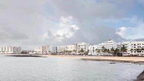 Playa Del Reducto stock videobeelden