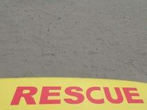 Playa del rescate en la costa de Irlanda Imagen de archivo