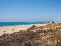 Playa Del Rey beach. Landscape of Playa Del Rey beach Stock Images