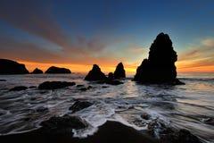 Playa del rodeo Fotografía de archivo libre de regalías