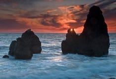 Playa del rodeo, San Francisco California Imágenes de archivo libres de regalías