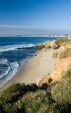 Playa del shell de La Jolla imagenes de archivo