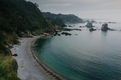 Playa del Silencio Images stock