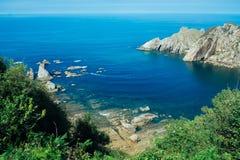 Playa del Silencio Photo libre de droits