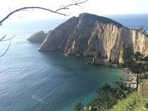 Playa del Silencio Стоковые Изображения