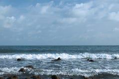 Playa del sor de BangKao Laem Fotos de archivo libres de regalías