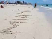 Playa del sur Foto de archivo
