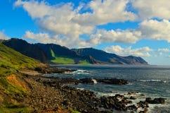 Playa del sur de Oahu Foto de archivo