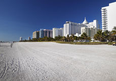 Playa del sur, hoteles de Miami Imagen de archivo