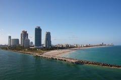 Playa del sur la Florida Imagen de archivo