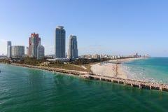 Playa del sur, la Florida Imagen de archivo libre de regalías