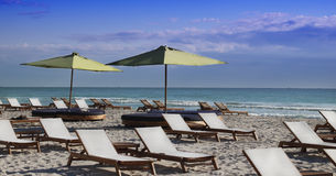 Playa del sur, Miami Imágenes de archivo libres de regalías