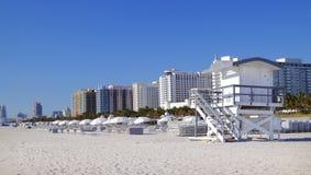 Playa del sur Miami Fotografía de archivo