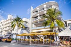 Playa del sur Miami Fotos de archivo