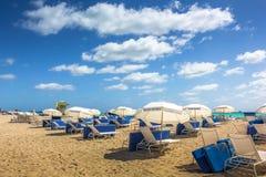 Playa del sur Miami Foto de archivo libre de regalías