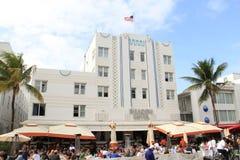 Playa del sur Miami del art déco Foto de archivo libre de regalías