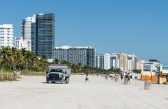 Playa del sur Miami, la Florida fotografía de archivo