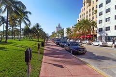Playa del sur Miami, la Florida Foto de archivo