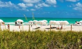 Playa del sur, Miami, la Florida Fotos de archivo libres de regalías