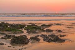 Playa del tamarindo foto de archivo libre de regalías