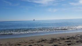 Playa del verano fotografía de archivo