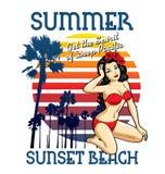 Playa del verano Fotos de archivo libres de regalías