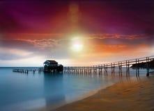 Playa del verano Imágenes de archivo libres de regalías
