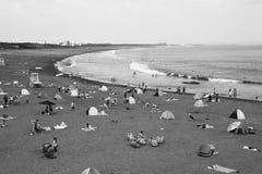 Playa del verano/costa de Shonan Imagen de archivo libre de regalías