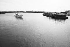 Playa del verano/costa de Shonan Imágenes de archivo libres de regalías
