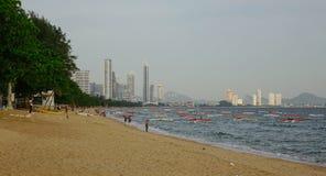 Playa del verano en Pattaya, Tailandia Imagen de archivo